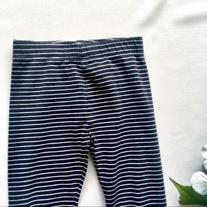 Girls 4T Pinstripe Navy Legging